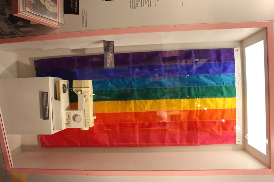 The first pride flag, Newsuem