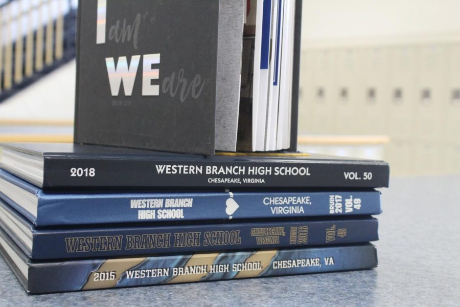 Sitting atop the 2018-19 yearbook is the first to not contain senior quotes.